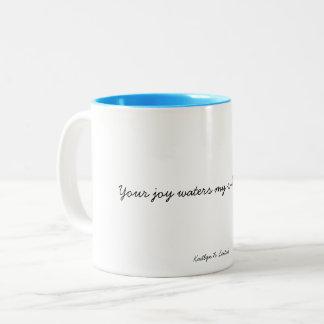 Joy Two-Tone Coffee Mug