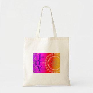 JOY Vibrant Tote Bag