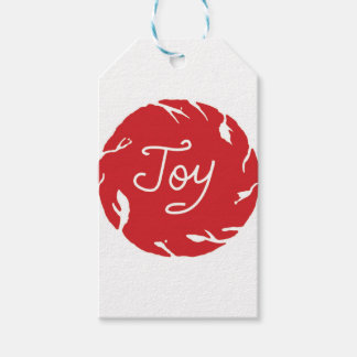 Joy Wrapping Gift Tags