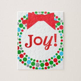 Joy Wreath Jigsaw Puzzle