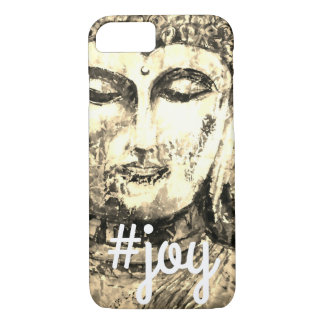Joy Zen Buddha Watercolor Art Phone Case