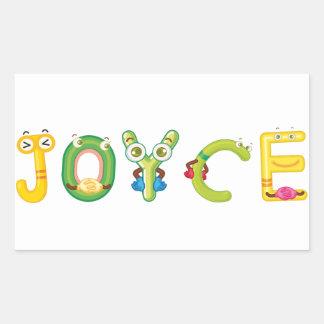 Joyce Sticker