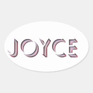 Joyce sticker name