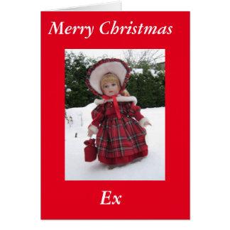 """""""Joyeuse carte ex de Noël """""""