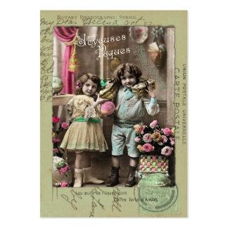 Joyeuses Pâques Easter Business Cards