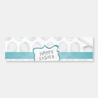 Joyeuses Pâques en bon état Autocollant De Voiture