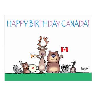 Joyeux anniversaire Canada ! par le harrop - Cartes Postales