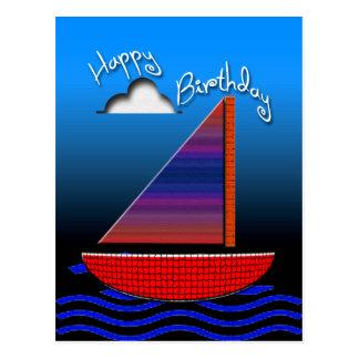 Joyeux anniversaire carte postale