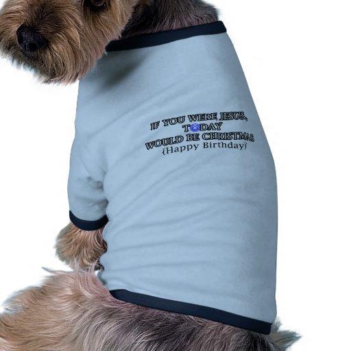joyeux anniversaire tee-shirt pour chien