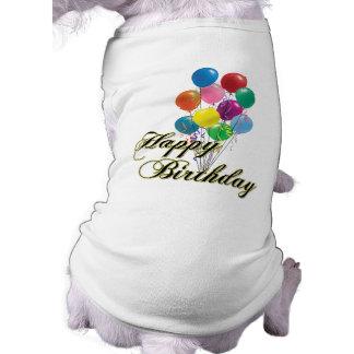 Joyeux anniversaire - D4 Manteaux Pour Animaux Domestiques