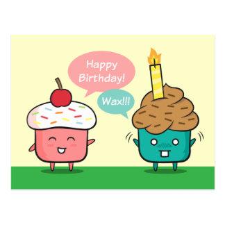 Joyeux anniversaire drôle - ennuis de bougie de cartes postales