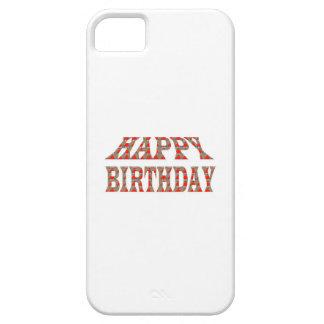 JOYEUX ANNIVERSAIRE HappyBIRTHDAY LOWPRICES coloré iPhone 5 Case