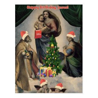 Joyeux anniversaire, Jésus ! Remake drôle de Cartes Postales
