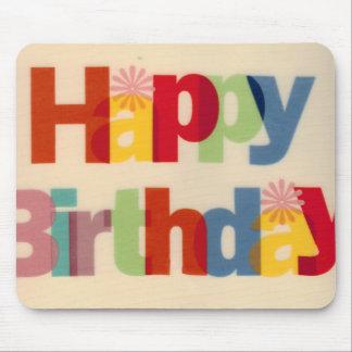 Joyeux anniversaire tapis de souris