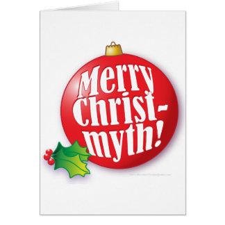 Joyeux Christmyth ! Carte De Vœux
