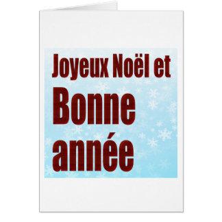 Joyeux Noel 6633 Greeting Cards