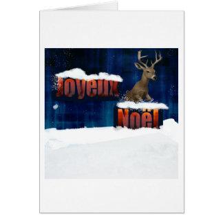 Joyeux Noel 6637 Card