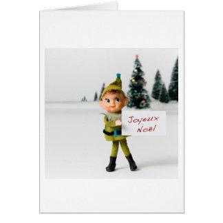 Joyeux Noel 6695 Greeting Card