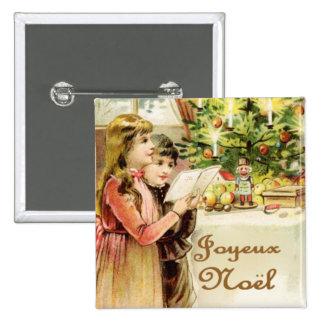 Joyeux Noel Badges Avec Agrafe