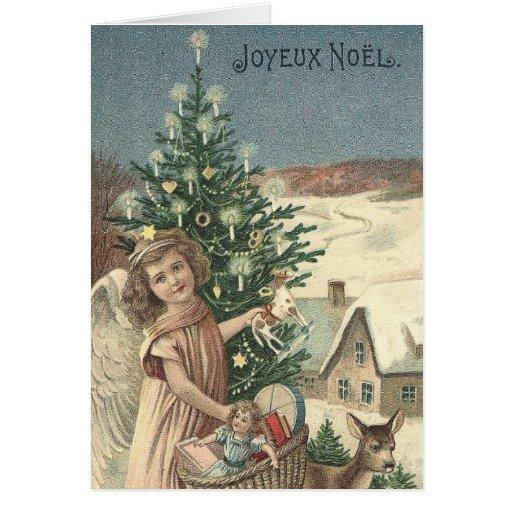 Joyeux Noel Cards