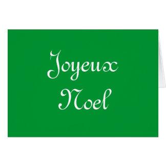 """""""Joyeux Noel"""" Card"""
