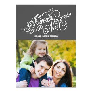 JOYEUX NOEL cartes de photo de vacances Personalized Invite