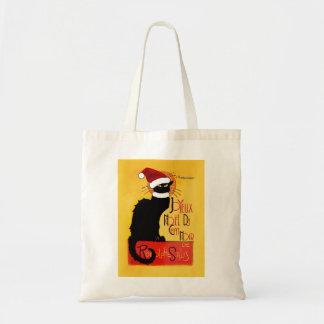 Joyeux Noël Du Chat Noir Tote Bag