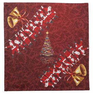 Joyeux Noël et bonne année Serviette En Tissu