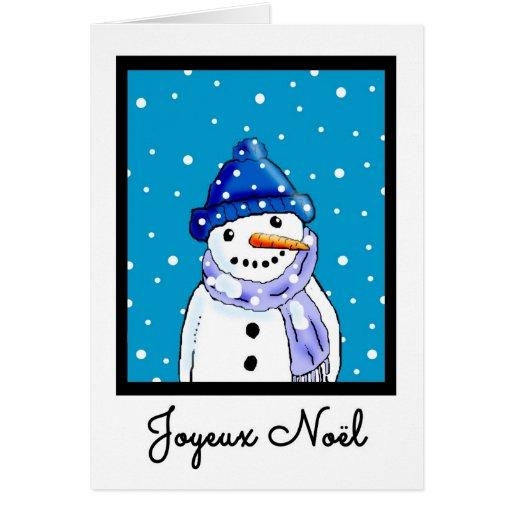 Joyeux Noel - French Christmas Card