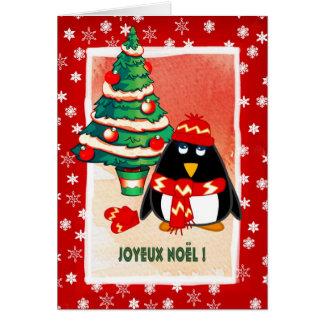 Joyeux Noël . French Christmas Card