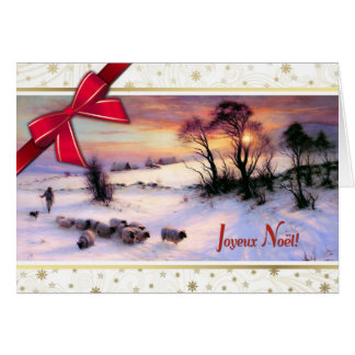 Joyeux Noël. French Christmas Cards