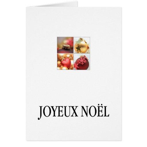 Joyeux Noël - French Christmas - Carte de Noël Greeting Cards