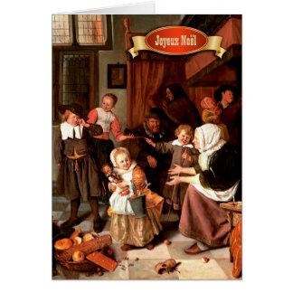 Joyeux Noël. French Christmas Greeting Cards