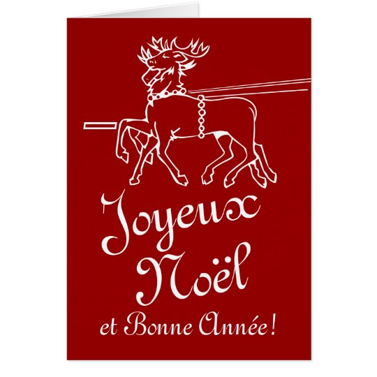 Joyeux Noel Greeting Cards