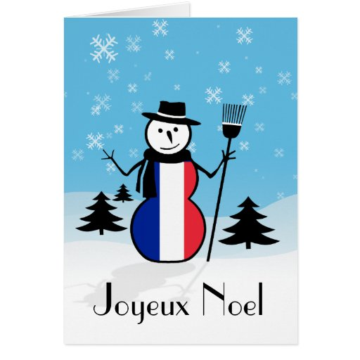 how to say snowman in french