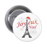 Joyeux Noel Pinback Button