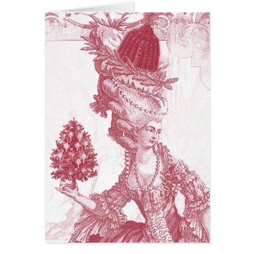 Joyeux Noel (rouge) Greeting Card