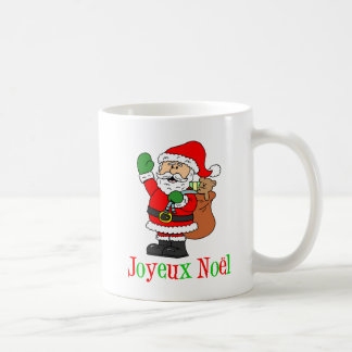 Joyeux Noel Santa French Christmas Mug