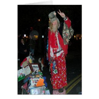 Joyeux Noël Woodstock, NY Carte De Vœux