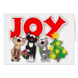 Joyful Cats Card