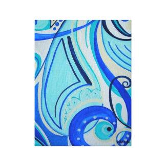 """Joyful Chaos"" Canvas Print"