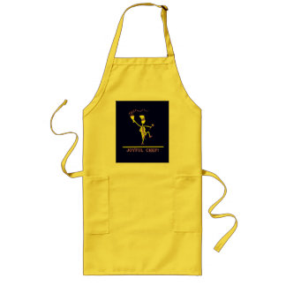 Joyful Chef Hot Yellow Long Apron