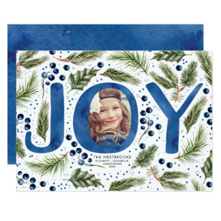 Joyful Christmas Photo Card