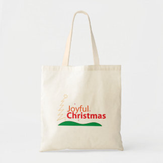 Joyful Christmas Tote Bag