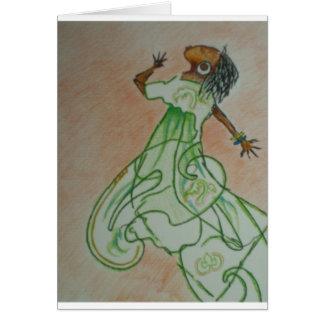Joyful Dance Card