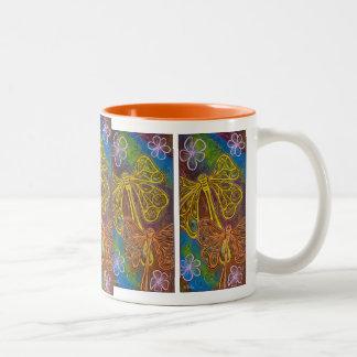 Joyful Dragonfly Mug