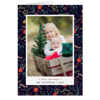 Joyful Foliage | Folded Holiday Photo Card