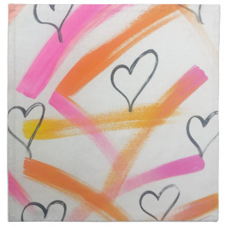 Joyful Heart Napkin
