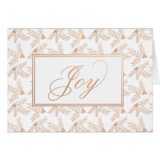 Joyful Holiday Folded Card