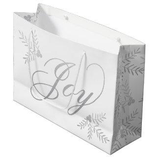 Joyful Holiday Large Gift Bag